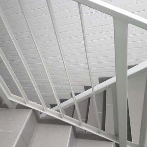 Aluminium Balustrade for Stairwells