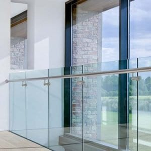 Grouted Balustrade With Handrail