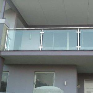 Semi Frameless Stainless Steel Balustrade