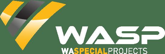 NEW WASP LOGO WHITE