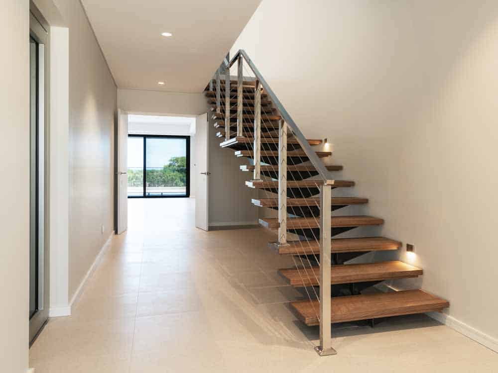 Chrome Balustrade with Wire